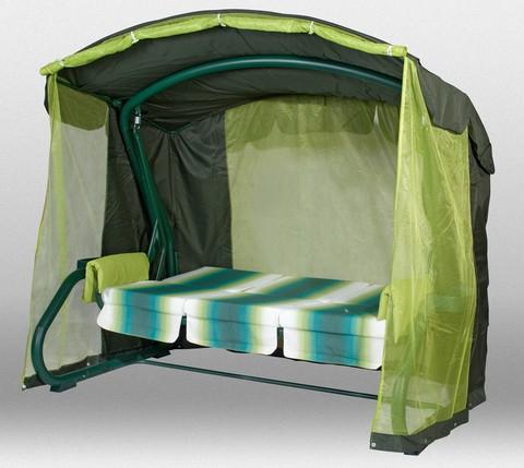 Садовые качели Сорренто зеленые A12G-C1.175/319A12.1