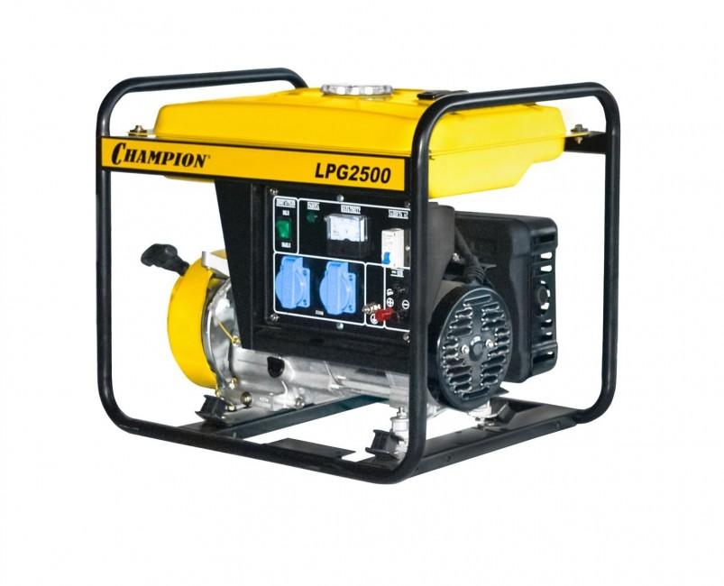 Генератор бензиново-газовый CHAMPION LPG 2500