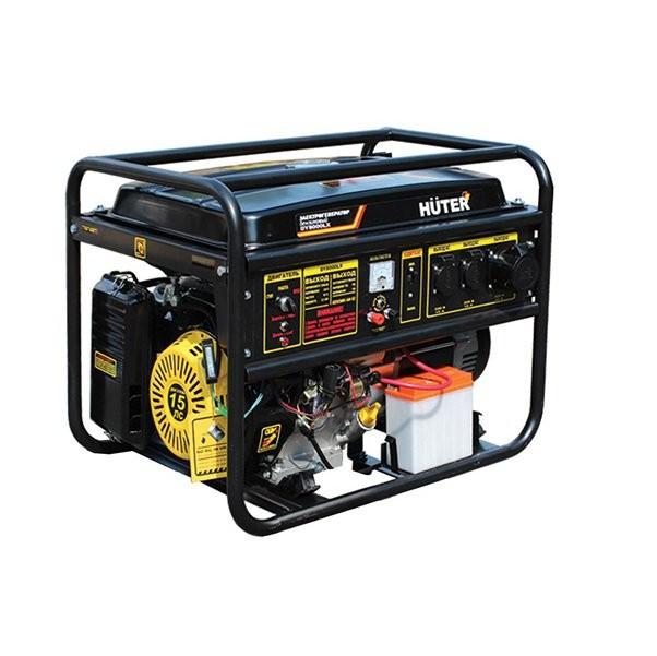 Генератор бензиновый HUTER DY 8000 L 64/1/33
