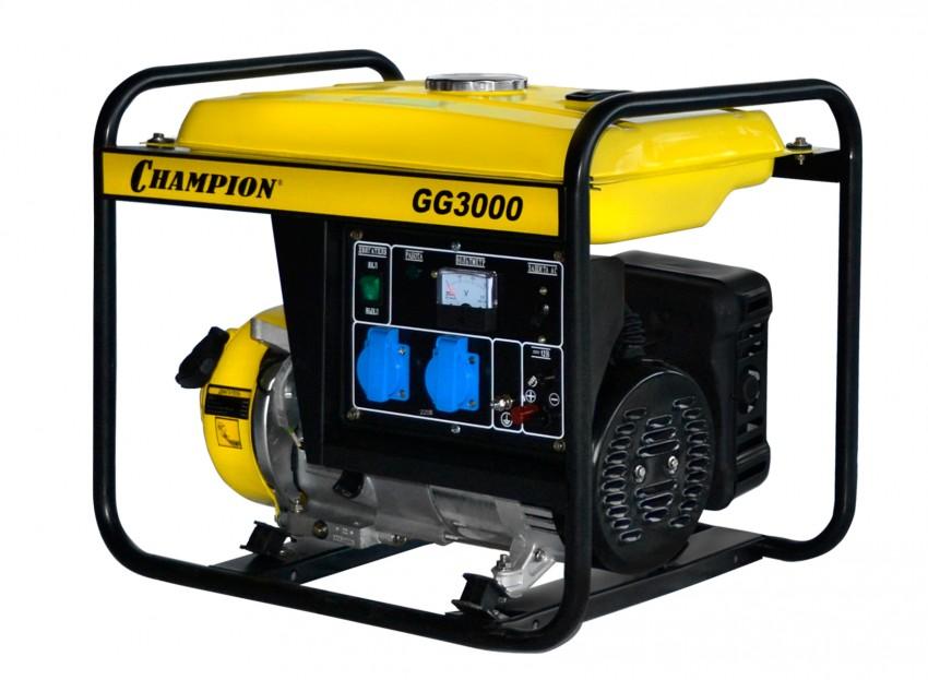 Генератор бензиновый CHAMPION GG 3000