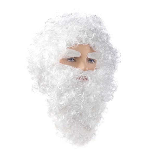 Набор Дед Мороз (парик, усы, борода, брови) Е 3327