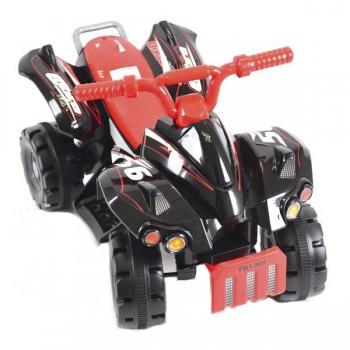 Квадроцикл на аккумуляторе TOYS 70*40*45 см, 3 км/ч, 6 V/4 Ah, 22 W, черный TR1305BK
