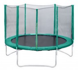 Батут Trampoline 6 диаметр 1,8 м, с внешней сеткой, зеленый