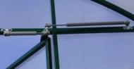 Термопривод для проветривания теплиц Синьор Помидор с доводчиком