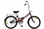 Велосипед 20' складной STELS PILOT-310 салатовый/зеленый, 1 ск., 13'