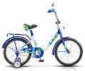 Велосипед 18' STELS FLASH синий/белый