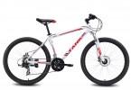 Велосипед MAVERICK 26' хардтейл, рама алюминий, Tank X 25 диск, красный-белый, 21ск.