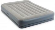 Кровать-матрас INTEX 152*203*30см с подголовником, со встроенным эл. насосом 220 В 64118