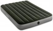 Матрас INTEX 152х203х25см встроенный ножной насос Downy Fiber-Tech 64763