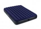 Матрас INTEX 152*203*22см + 2 подушки, ручной насос Classic Downy Fiber-Tech 64765