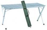 Стол раскладной Green Clade 140*70*70 алюминевая столешница 5203