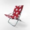 Кресло складное Белла CO-134B красное