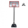 Баскетбольная стойка мобильная DFC STAND44M 112 х 72 см МДФ