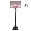 Баскетбольная стойка мобильная DFC STAND50M 122 х 80 см МДФ, всепогодная нейлоновая сетка