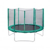 Батут Trampoline 8 диаметр 2,4 м, с внешней сеткой, зеленый