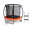 Батут Start Line Fitness 8 футов - 244 см, Glodal с внутренней сеткой и пластик. лестницей 08348A2ML