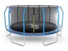 Батут Start Line Fitness 16 футов - 488 см, с внутренней сеткой и держателями 166108S2M