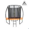 Батут DFC KENGOO II 8 футов-244 см, с внутренней сеткой, лестница, оранж./черный 8FT-BAS-BO
