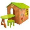 Игровой домик MOCHTOYS Garden toys со столиком и стульчиком 11045