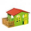 Игровой домик MOCHTOYS Garden toys большой, с забором 10498