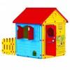 Игровой домик DOLU 156*104*132 см с забором 3019