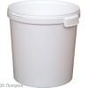 Бак 30 л пластиковый с крышкой, белый