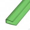 Профиль торцевой зеленый UP6х2100мм КС-Профпласт
