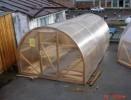 Теплица арочная деревянная Радуга-1 Лонг 8,15м*3м*2,15м