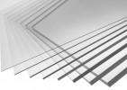 Монолитный поликарбонат толщина 1 мм (1,25х2,05 вес 3,08 кг), прозрачный