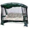 Садовые качели LETOLUX Сакура 180 см, ф 60 мм с антимоскитной сеткой, зеленый ЛЛКЧ 10G