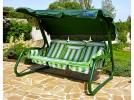 Садовые качели OLSA Мастак зеленый (с 654)