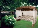 Садовые качели OLSA Турин с антимоскитной сеткой, коричневый (с 825)