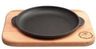 Сковорода-жаровня чугунная Maysternya 200*40 мм с подставкой Horeca Т101101