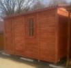 Домик садовый деревянный БДД