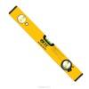 Уровень FIT 400мм, 2 глазка, желтый 18004