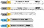 Полотна для электролобзика FIT T111C, T101BR, T101AO, T118A, T118B  41011