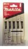 Пилки для лобзика по дереву MAKITA HCS/105/70/2.8мм сверхчистый рез 65мм, 5шт. A-85793