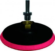 Диск для эксцентриковых машин полировочный FIT 150мм (M 14), пластиковая основа, с липучкой 39622