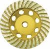 Диск шлифовальный для УШМ FIT Турбо 125мм по камню, алмазный 39521