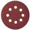 Круг шлифовальный по дереву, металлу BOSCH 125мм К60, 8 отверстий, липучка, 5шт. 2.608.605.068