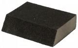 Губка шлифовальная FIT Р 360, 100*70*25мм, алюминий-оксидная, угловая 38376