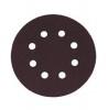 Круг для эксцентриковых машин шлифовальный FIT P320, 125мм алюм.-оксид., с отверст., липучка 39670