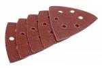 Шкурка шлифовальная по краске, лаку BOSCH 125мм, К100, 8 отверстий, липучка, 5шт. 2.608.605.003
