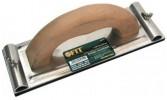 Терка для бумаги наждачной FIT Профи 230*80мм алюминиевая с металл. прижимом 39751