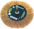 Корщетка-колесо для дрелей FIT 50мм 38505