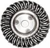 Корщетка-колесо для УШМ FIT 125мм витая 39103