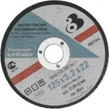 Круг отрезной по металлу FIT Златоуст 180*2*22мм 37023