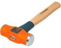 Молоток инженерный TRUPER 900г, деревянная ручка 30см с антишоковым наконечником 16506