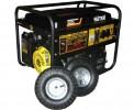 Генератор бензиновый HUTER DY 6500 LX с колесами и аккумулятором 64/1/15