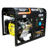 Генератор бензиновый HUTER DY 6500 LXW с функцией сварки, с колесами 64/1/18